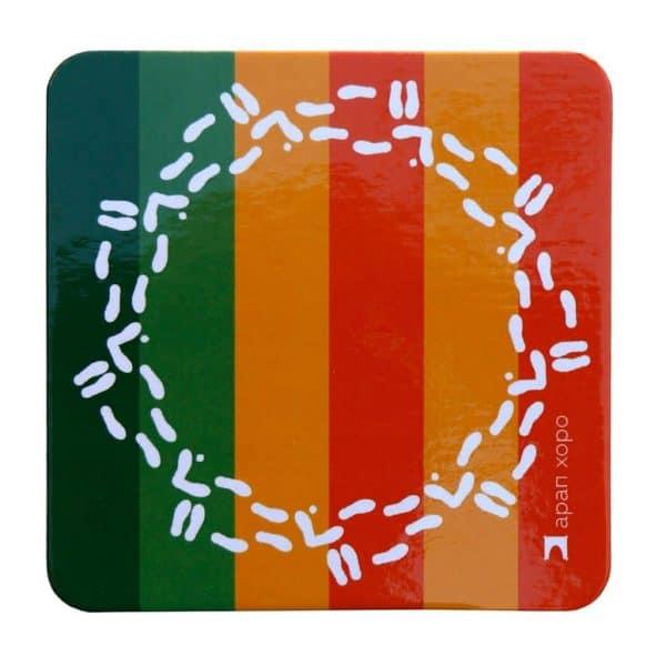 подложки за чаши с формата на Арап хоро