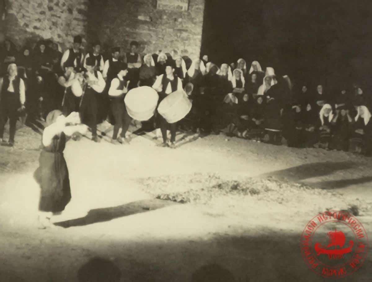 Нестинари танцуват, с. Българи