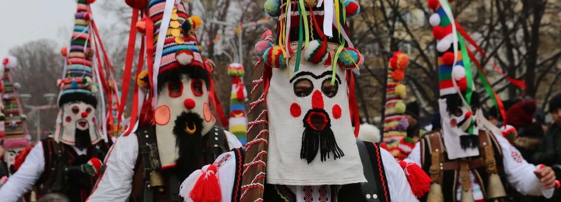 Кукери от Сурва в Перник