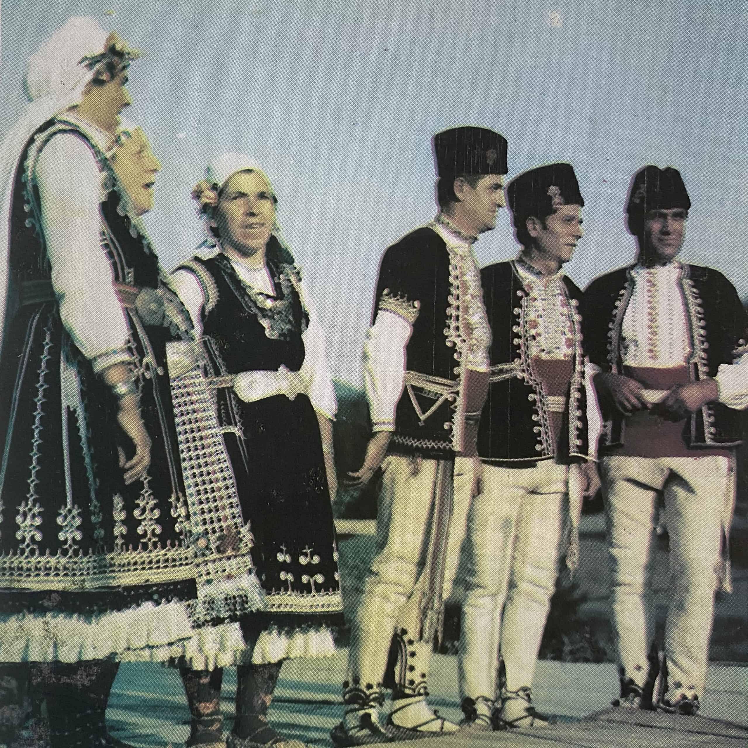 женска и мъжка носия от Софийско