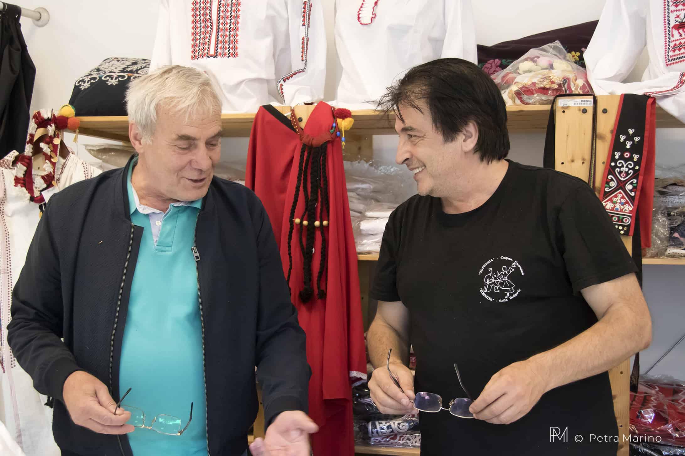 Фолклорни герои - Емил Генов и Борис Димитров - рубрика на Таратанци, част 1